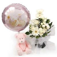 Newborn Gifts flowers delivery - Flowers Auckland