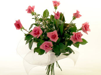 Colour Rose Bouquets flowers delivery - Flowers Auckland