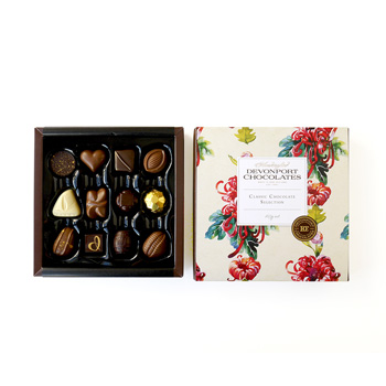 NZ made Chocolates in a beautiful box flowers delivery - Flowers Auckland