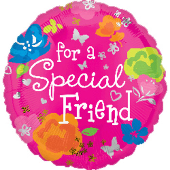 Special Friend Balloon flowers delivery - Flowers Auckland