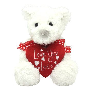 Romantic Soft Toy for your special person flowers delivery - Flowers Auckland
