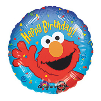 Sesame St. Birthday Balloon flowers delivery - Flowers Auckland