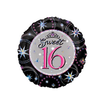 Sweet 16 Balloon | Flowers delivery | Auckland Florist flowers delivery - Flowers Auckland