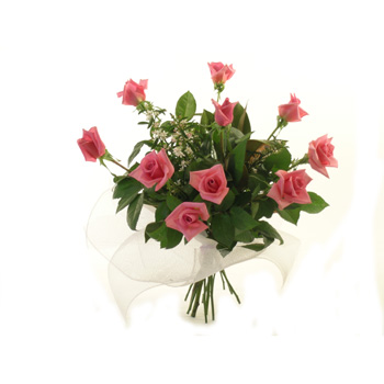 Coloured Rose Bouquets flowers delivery - Flowers Auckland