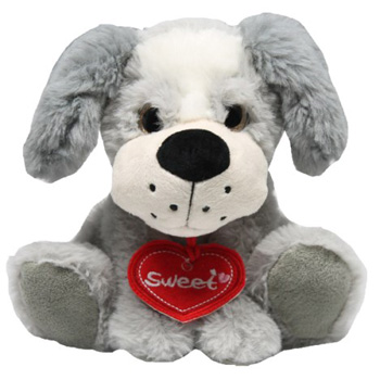Sweet Puppy is gorgeous, perfect for Valentine's Day Feb 14th flowers delivery - Flowers Auckland