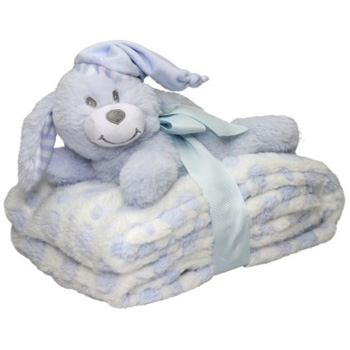 Snuggly Blanket and Bear at Flowers Auckland flowers delivery - Flowers Auckland