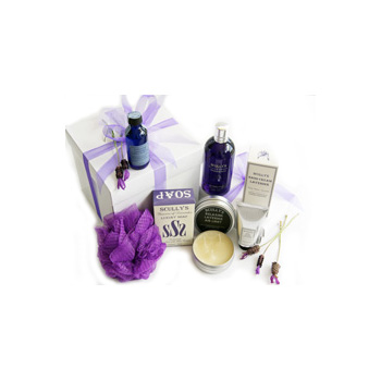 Luxury Lavender Gift Box at Auckland Florist, Flowers Auckland flowers delivery - Flowers Auckland