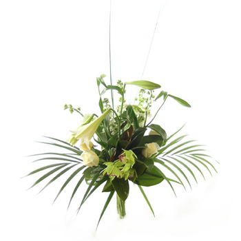 Elegance to the Max-Sympathy flowers from Flowers Auckland flowers delivery - Flowers Auckland