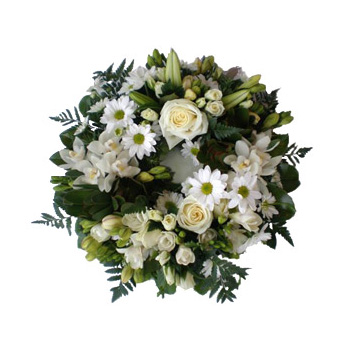 Funeral Wreaths sent Auckland wide flowers delivery - Flowers Auckland