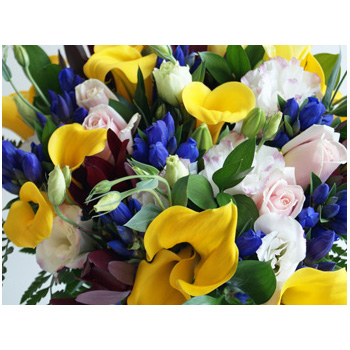 Flowers Auckland Seasonal Mix Bouquet - flower delivery flowers delivery - Flowers Auckland