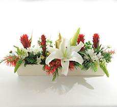 Traditional Christmas Flower Arrangement flowers delivery - Flowers Auckland