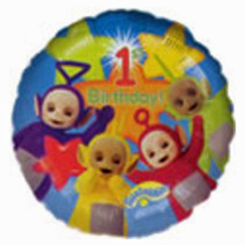 Fun Helium Balloons erfect to celebrate 1st birthdays flowers delivery - Flowers Auckland