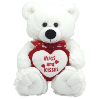 Romantic Bears from Flowers Auckland, perfect for Valentine's Day, Feb 14 flowers delivery - Flowers Auckland