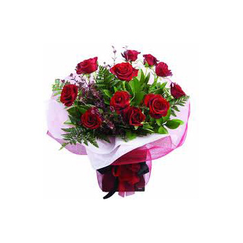 Send your Roses in a Vox, great for lasting and design flowers delivery - Flowers Auckland