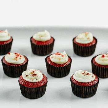 Red Velvet Mini Cupcakes, so perfect for many occasions flowers delivery - Flowers Auckland