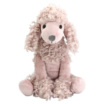 Polly the Poodle is adorable, perfect to send with flowers delivery flowers delivery - Flowers Auckland