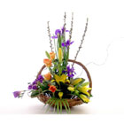 Mothers Day Flower Basket flowers delivery - Flowers Auckland