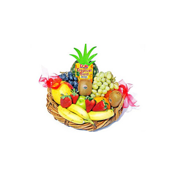 Fruit Fix Hampers, a healthy gift to send, Flowers Auckland flowers delivery flowers delivery - Flowers Auckland