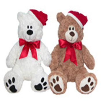 Christmas Cheer Bear-SAVE flowers delivery - Flowers Auckland