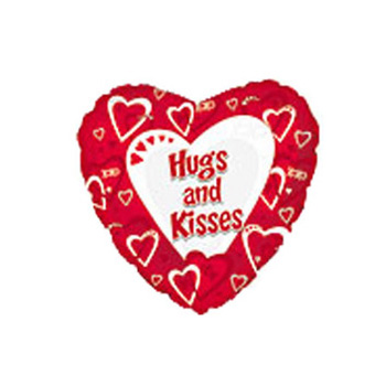 Hugs 'n Kisses Balloon flowers delivery - Flowers Auckland