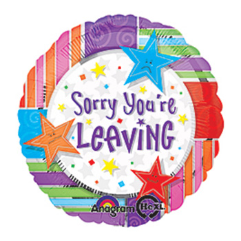Sorry You Are Leaving Balloons from Flowers Auckland. flowers delivery - Flowers Auckland