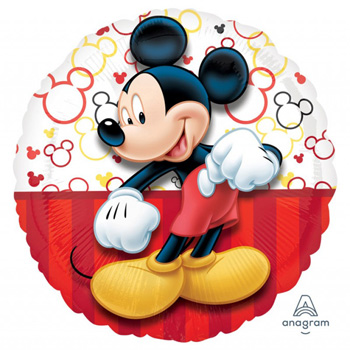 Mickey Mouse Helium Balloon for Auckland delivery flowers delivery - Flowers Auckland