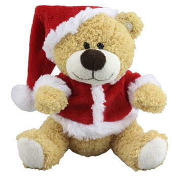 Merry Xmas Bear from Flowers Auckland is cute - flowers delivery flowers delivery - Flowers Auckland