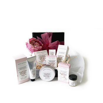 NZ made Peony Apothecary Gift Box from Flowers Auckland flowers delivery - Flowers Auckland