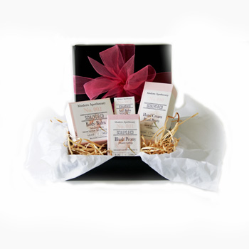 Peony Pampering Gift Box from Flowers Auckland flowers delivery - Flowers Auckland