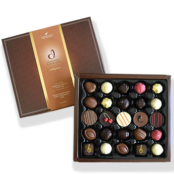 Sweet Luxury - 25pce selection of Chocolates and Truffles- flowers delivery - Flowers Auckland flowers delivery - Flowers Auckland